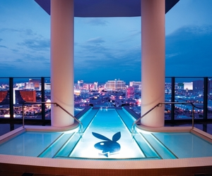 Playboy, pool, and hotel image