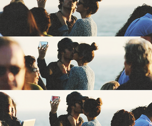cute couple, delena, and nian image