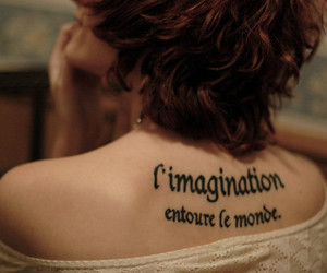 tattoo, imagination, and quote image