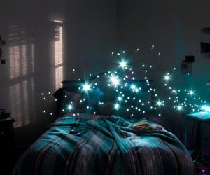 Dream, light, and blue image