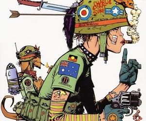 tank girl, comic, and cartoon image