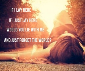lay, quote, and snow patrol image