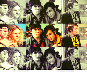 couple, skins, and April Pearson image