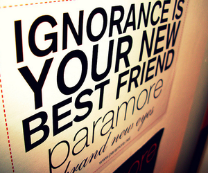 paramore and ignorance image