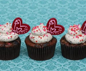 cakes, candy, and heart image
