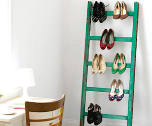 shoes, diy, and ladder image