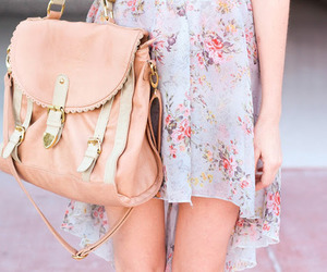 bag, spring, and bags image