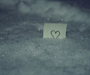 bokeh, heart, and Paper image
