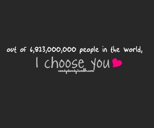 love, choose, and text image
