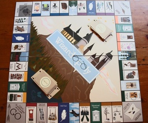 harry potter, game, and monopoly image