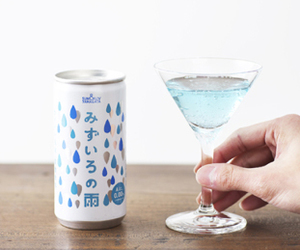 alcohol, blue, and drink image