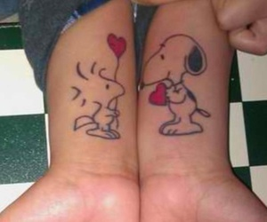 friendship, snoopy, and love image