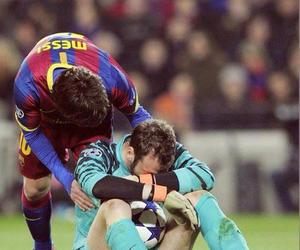 lionel messi and fcb image