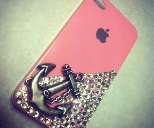 case, iphone, and pink image