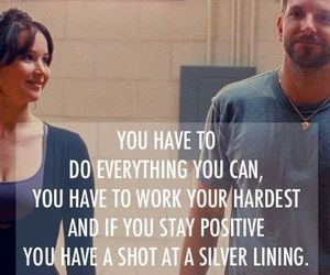 quote, Jennifer Lawrence, and silver linings playbook image