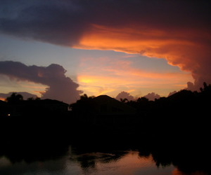 clouds, florida, and pretty image
