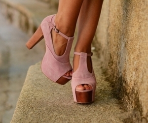 foxy, jeffrey campbell, and pink image