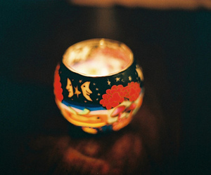 light, vintage, and candle image