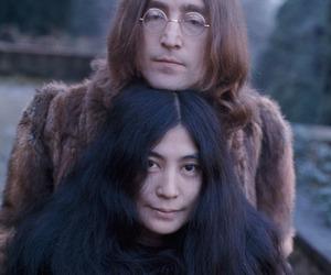 john lennon, Yoko Ono, and love image