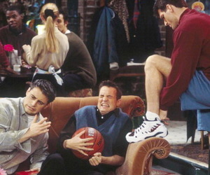 chandler bing, series, and funny image