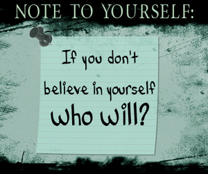 believe, confidence, and text image