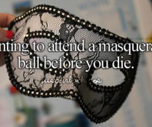 masquerade, ball, and mask image