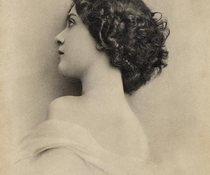 girl, old, and vintage image