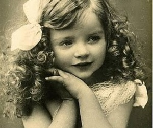 girl, cute, and vintage image