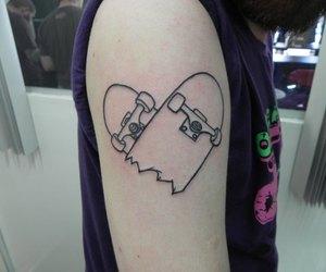 skate and tattoo image