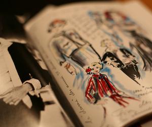 fashion and drawing image