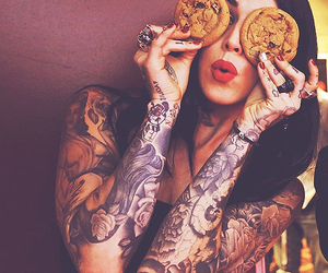 tattoo, Cookies, and kat von d image