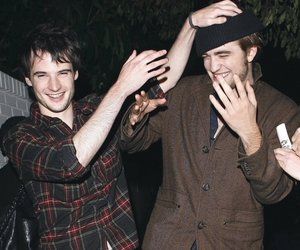 robert pattinson and tom sturridge image
