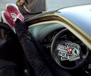 car, shoes, and vans image
