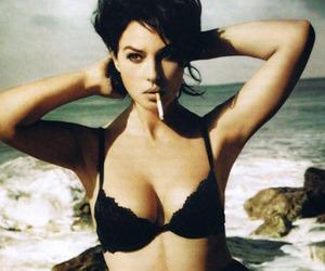 cigarette, beach, and sexy image
