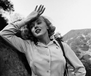 Marilyn Monroe, 40s, and b&w image