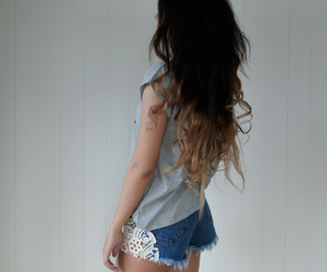 blonde, girly, and longhair image