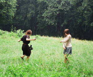 forest, fun, and grass image