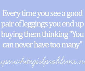 fashion, leggings, and quotes image