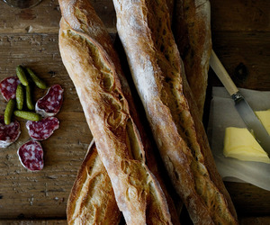 baguette, delicious, and yummy image