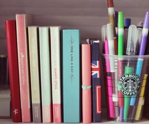 books and starbucks image