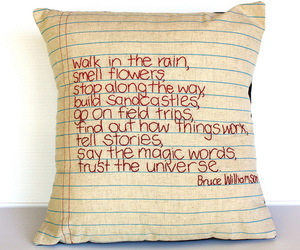 cushion, embroidery, and pillow image