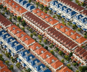 pictures from the sky, Yann Arthus-Bertrand, and Montonde Casitas (Mexiko City) image