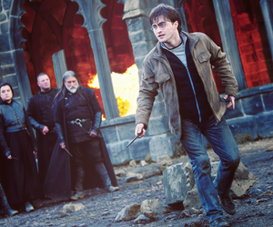 harry potter, deathly hallows, and daniel radcliffe image