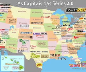 usa, map, and tv shows image
