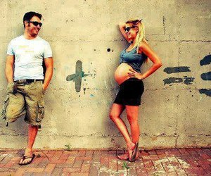 love, baby, and couple image