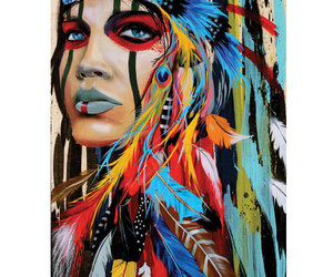 feather and native american image
