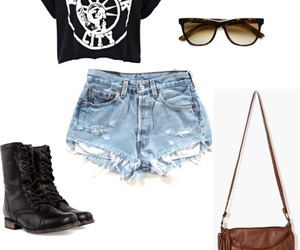 combat boots, fashion, and hipster image