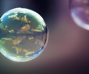 bubbles, photography, and sky image
