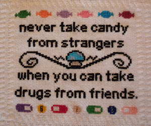 candy, drugs, and funny image
