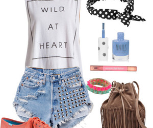 fashion, high waisted shorts, and cute outfits image